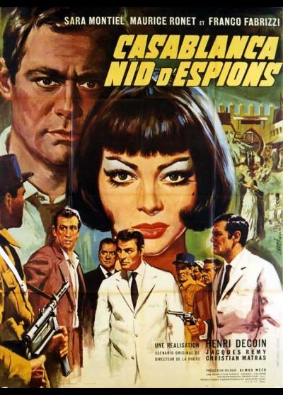 affiche du film CASABLANCA NID D'ESPIONS