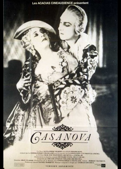 affiche du film CASANOVA