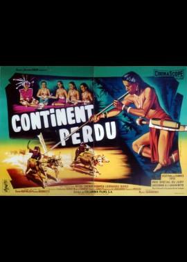 affiche du film CONTINENT PERDU