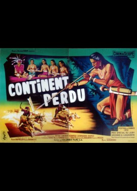 CONTINENT PERDU movie poster