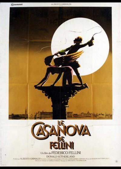 affiche du film CASANOVA DE FELLINI (LE)