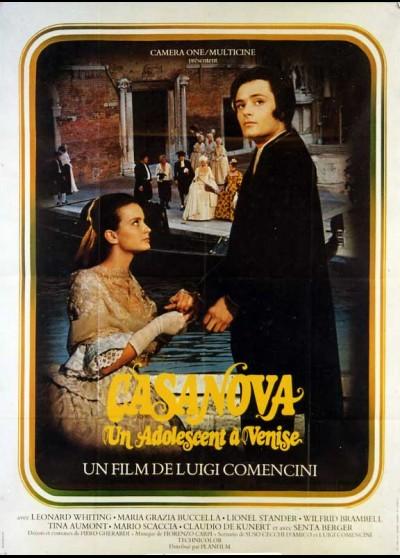 affiche du film CASANOVA UN ADOLESCENT A VENISE