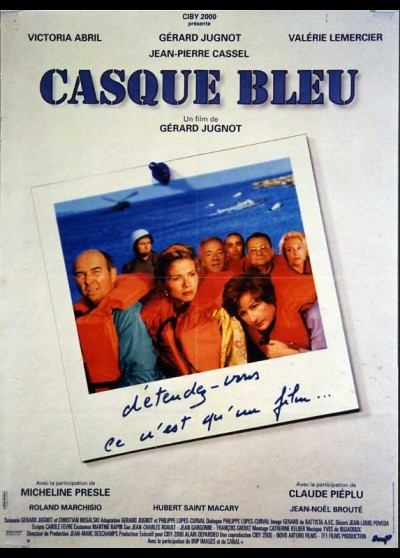 affiche du film CASQUE BLEU
