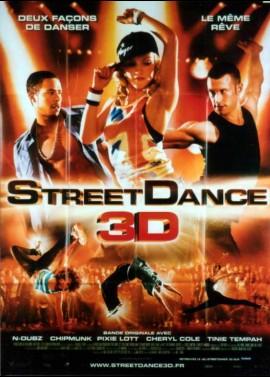 affiche du film STREET DANCE 3D
