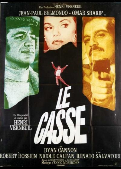 affiche du film CASSE (LE)