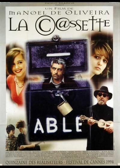 affiche du film CASSETTE (LA)