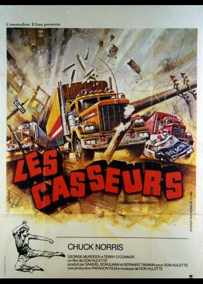 affiche du film CASSEURS (LES)