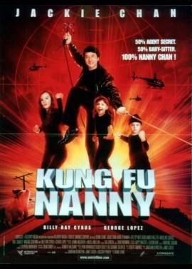 affiche du film KUNG FU NANNY