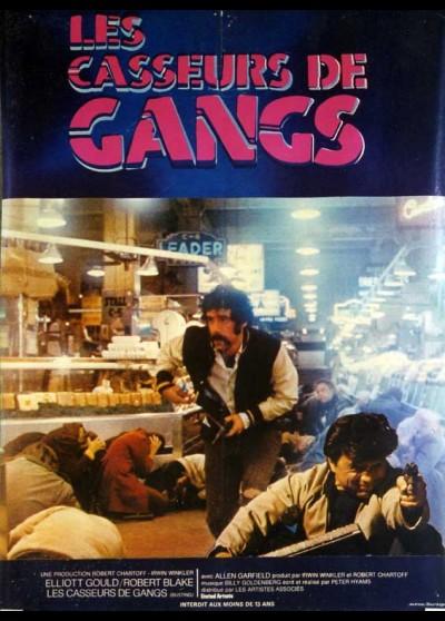 affiche du film CASSEURS DE GANG (LES)