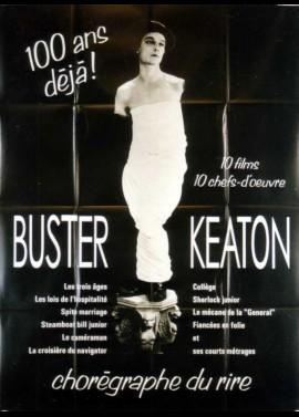 affiche du film BUSTER KEATON 100 ANS DEJA RETROSPECTIVE