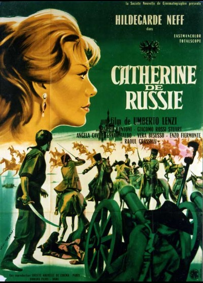 affiche du film CATHERINE DE RUSSIE