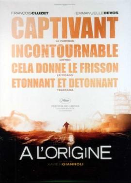affiche du film A L'ORIGINE