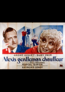 affiche du film ALEXIS GENTLEMAN CHAUFFEUR