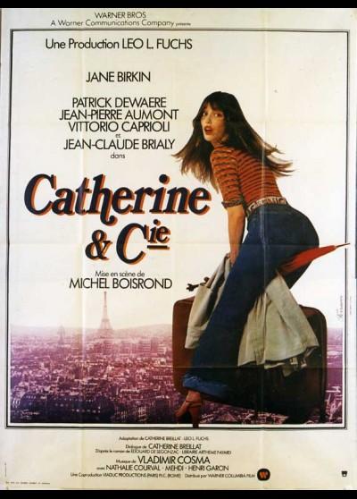 CATHERINE ET COMPAGNIE movie poster