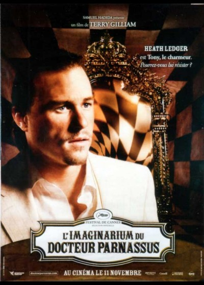 IMAGINARIUM OF DOCTOR PARNASSUS (THE) movie poster