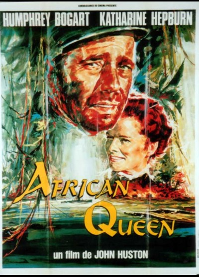 AFRICAN QUEEN (THE) movie poster