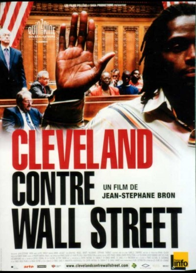 CLEVELAND CONTRE WALL STREET movie poster