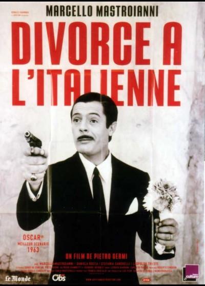affiche du film DIVORCE A L'ITALIENNE