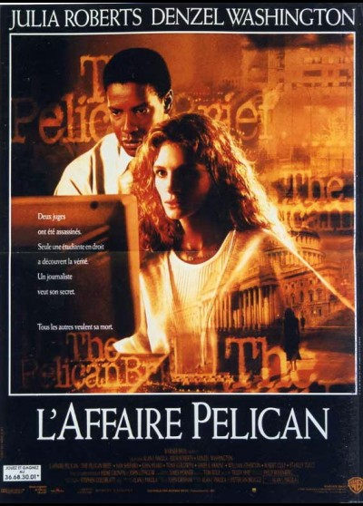 PELICAN BRIEF (THE) movie poster