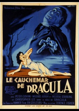 affiche du film CAUCHEMAR DE DRACULA (LE)