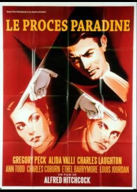 affiche du film PROCES PARADINE (LE)