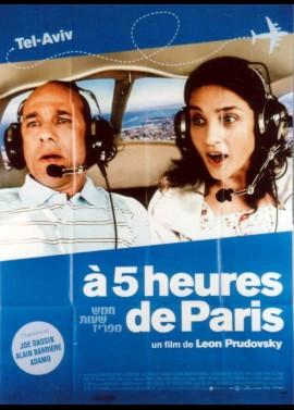 affiche du film A CINQ HEURES DE PARIS