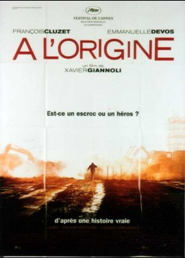 A L'ORIGINE movie poster