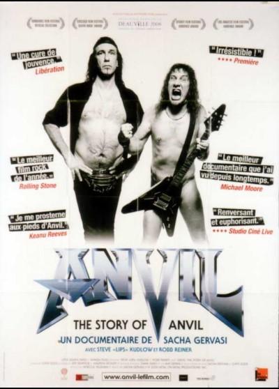 affiche du film ANVIL THE STORY OF ANVIL