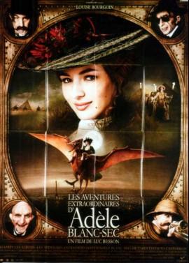 AVENTURES EXTRAORDINAIRES D'ADELE BLANC SEC (LES) movie poster