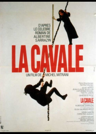 affiche du film CAVALE (LA)