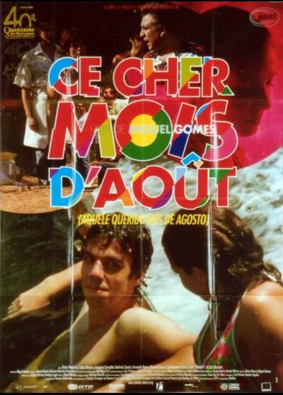AQUELE QUERIDO MES DE AGOSTO movie poster