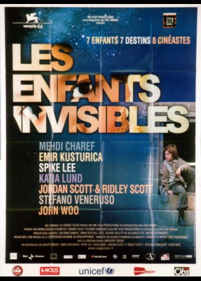 ALL THE INVISIBLE CHILDREN movie poster
