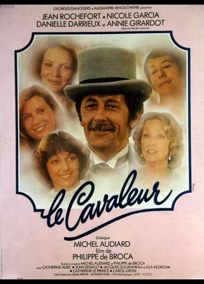 affiche du film CAVALEUR (LE)