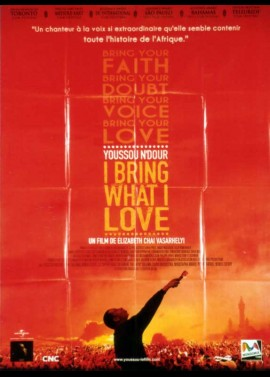 YOUSSOU N'DOUR I BRING WHAT I LOVE movie poster