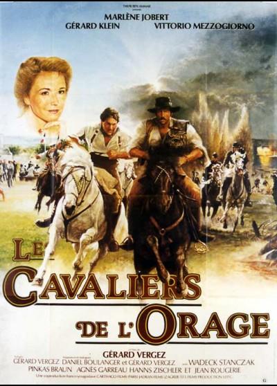 affiche du film CAVALIERS DE L'ORAGE (LES)