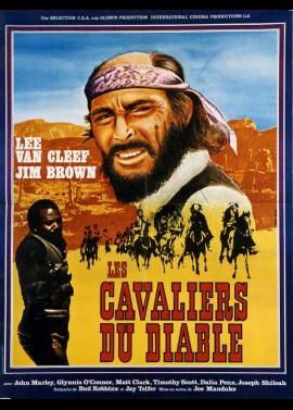 affiche du film CAVALIERS DU DIABLE (LES)