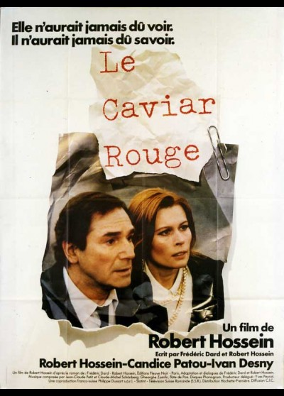 CAVIAR ROUGE (LE) movie poster
