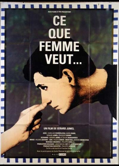 affiche du film CE QUE FEMME VEUT