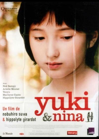 affiche du film YUKI ET NINA