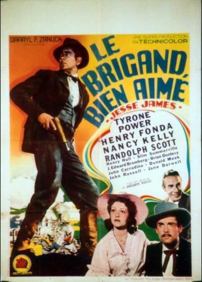 JESSE JAMES movie poster
