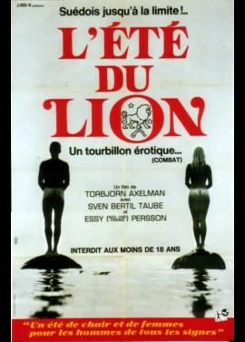 affiche du film ETE DU LION (L')