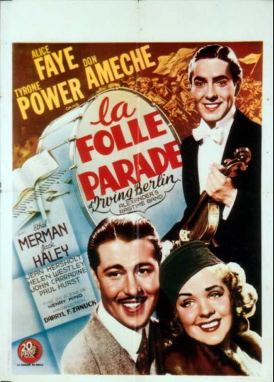 affiche du film FOLLE PARADE (LA)