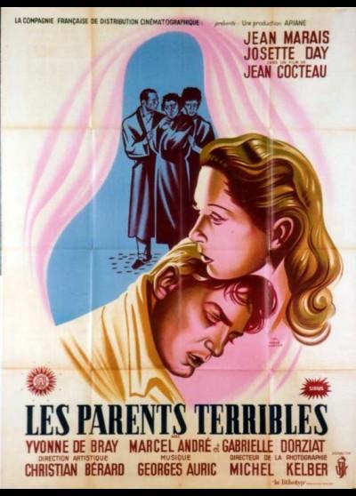 PARENTS TERRIBLES (LES) movie poster