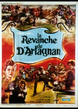 D'ARTAGNAN CONTRO I TRE MOSCHETTIERI movie poster