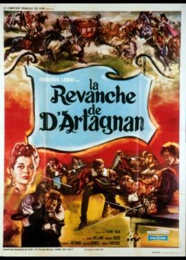 affiche du film REVANCHE DE D'ARTAGNAN (LA)