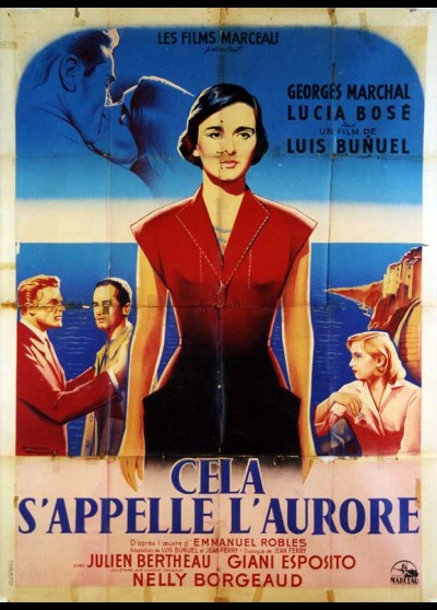 affiche du film CELA S'APPELLE L'AURORE