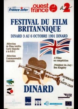 FESTIVAL DU FILM BRITANNIQUE 1991 movie poster