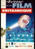 FESTIVAL DU FILM BRITANNIQUE 1993