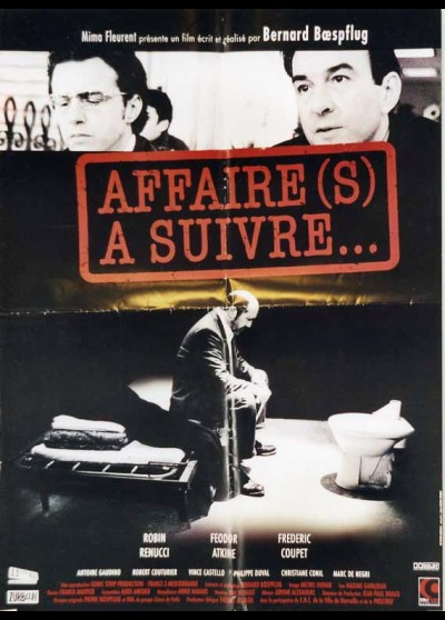 AFFAIRE(S) A SUIVRE movie poster