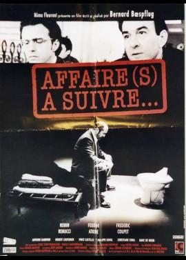 affiche du film AFFAIRE(S) A SUIVRE